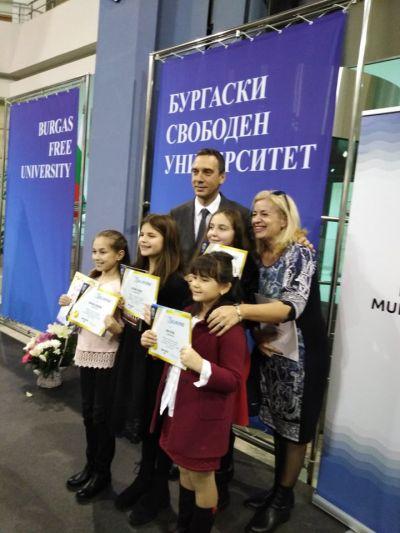 Поредно заслужено признание - СУ Добри Чинтулов - Бургас
