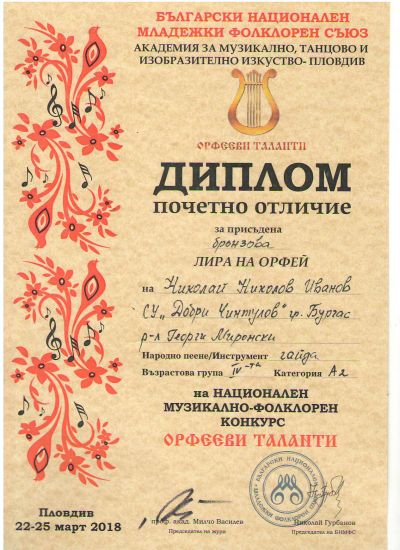 24 - СУ Добри Чинтулов - Бургас